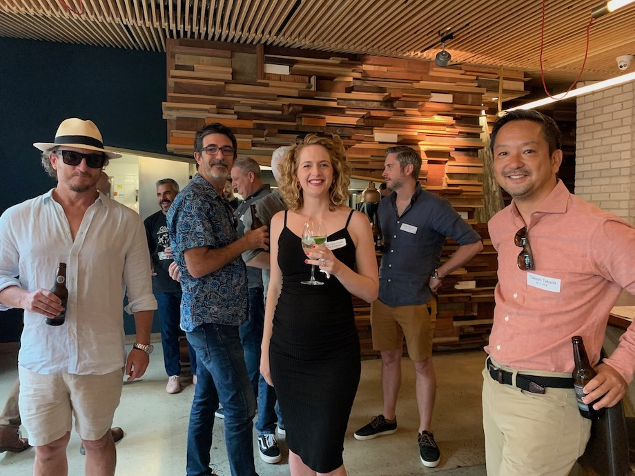 Brisbane's top creatives attend the Campaign Brief (Limited) Legendary Lunch ~ generously sponsored by ALT.VFX and Taxi Film Production
