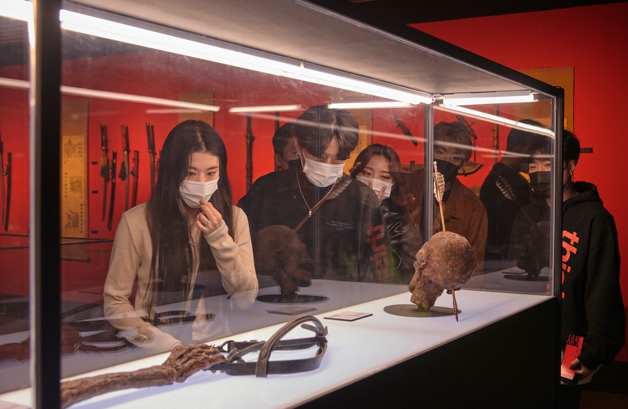 The Glue Society creates three-storey museum experience in Korea for Netflix horror series 'Kingdom' via Wieden+Kennedy Tokyo