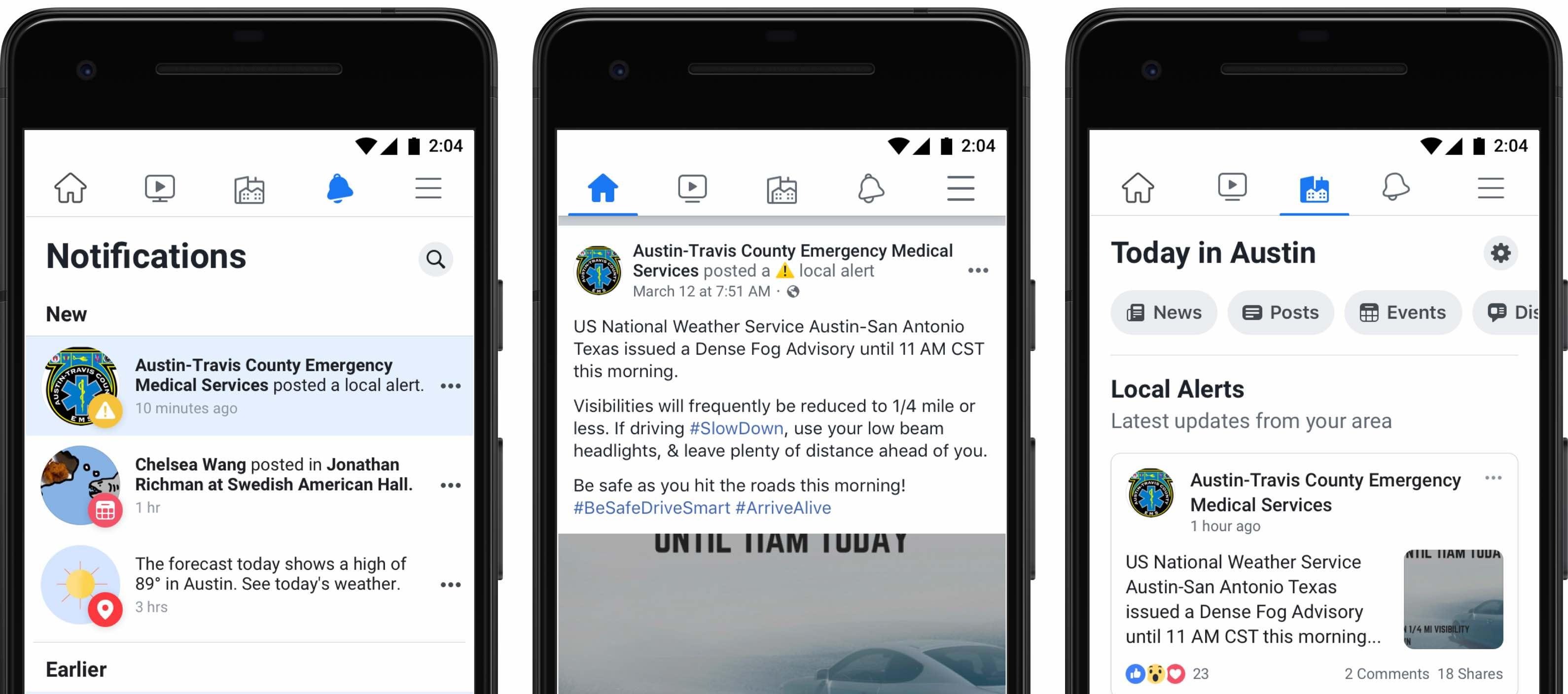 Facebook expands Local Alerts in Australia ahead of bushfire season
