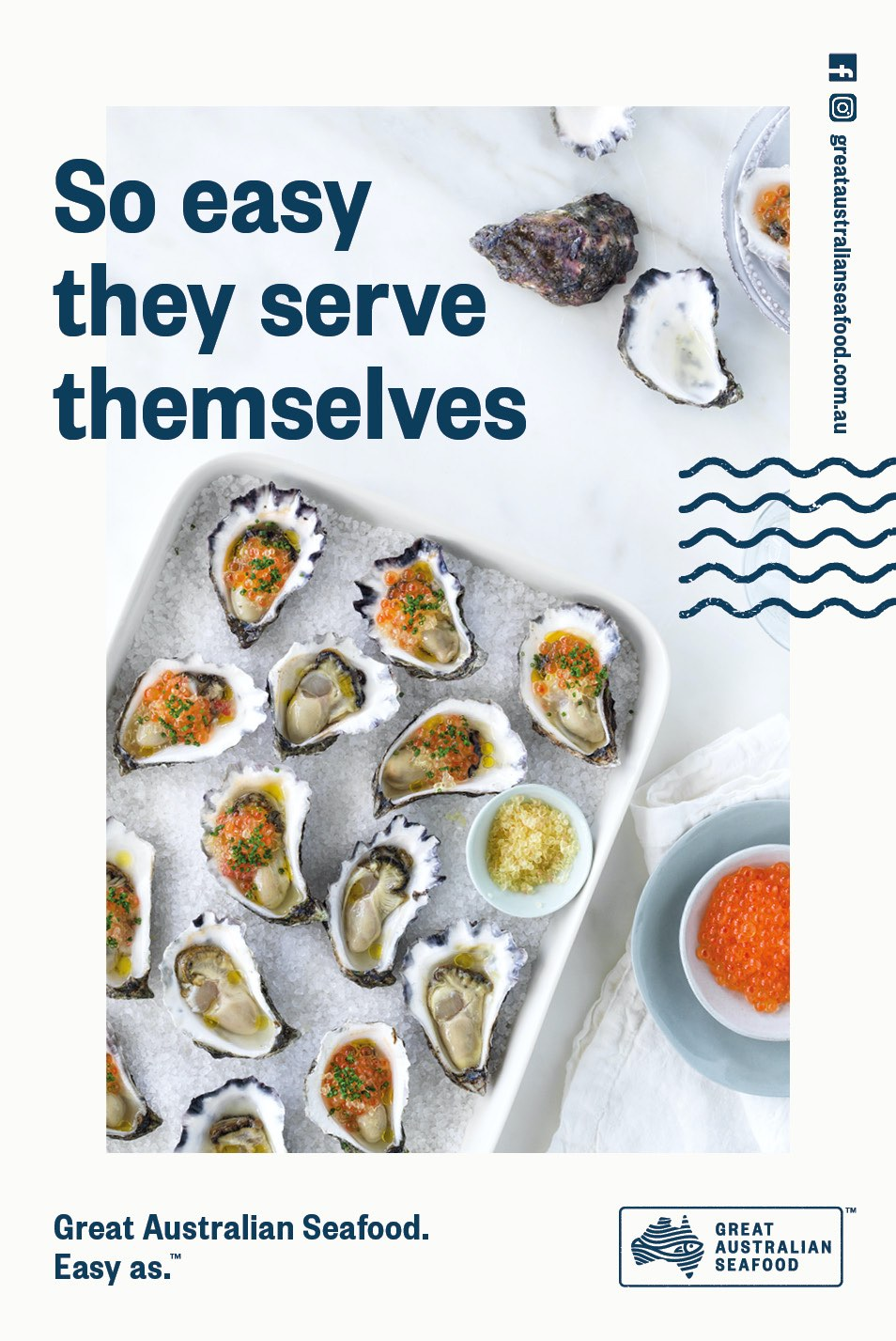 SIA encourages the nation to eat more seafood in major campaign via Clemenger BBDO, Sydney