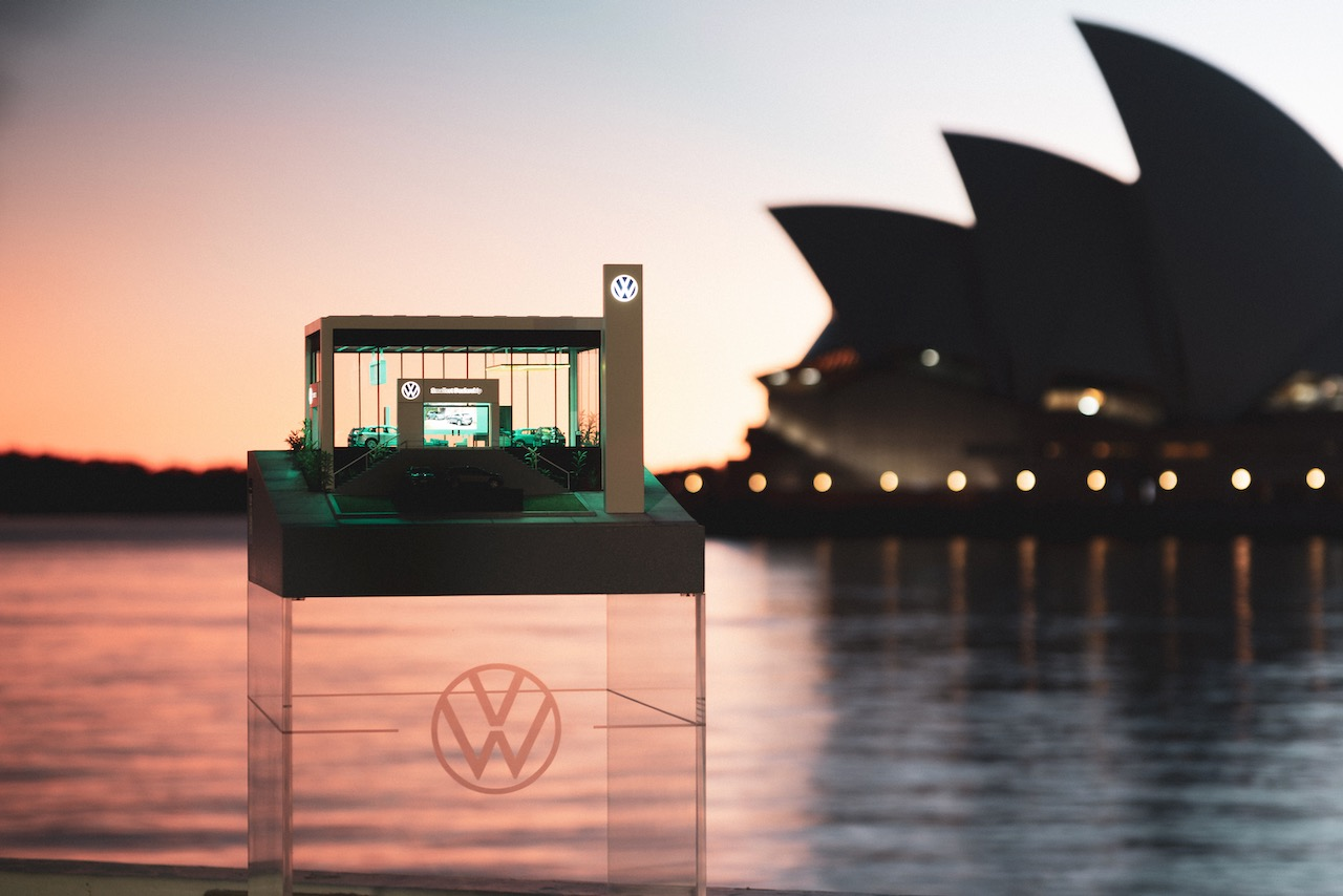 Volkswagen open World's Smallest Dealership to let Aussies 'try on' its small SUVs via DDB Sydney