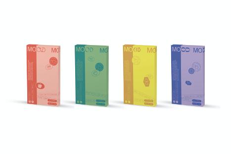 UnLtd's Little Colossus launches Mood Tea with brand strategy / design via Maud + The Monkeys