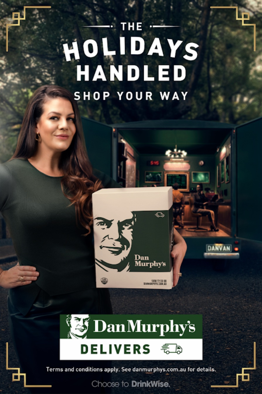 This year Dan Murphy's has the holidays handled in new Christmas campaign via Thinkerbell