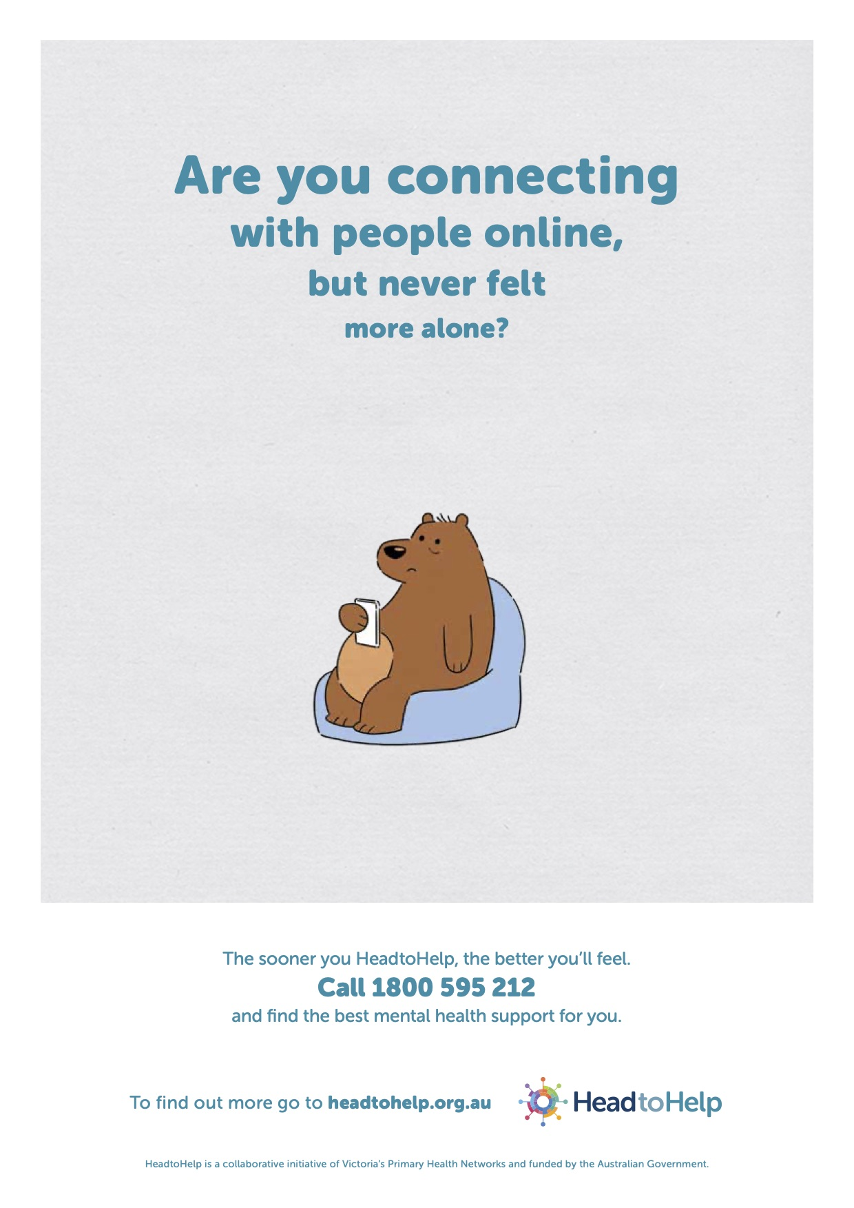 Victorians encouraged to HeadtoHelp in new mental health campaign via Icon Agency