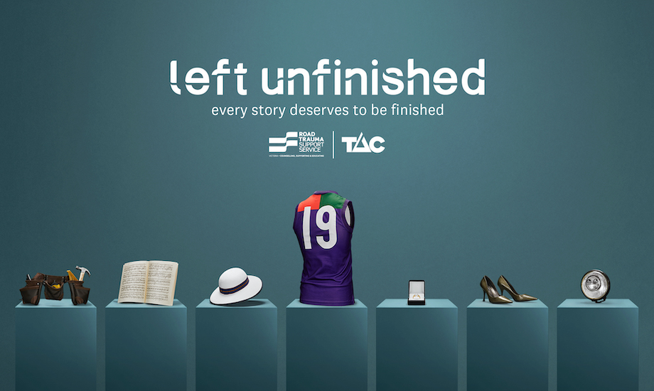TAC and RTSSV give voice to road trauma victims in new 'Left Unfinished' campaign via TABOO
