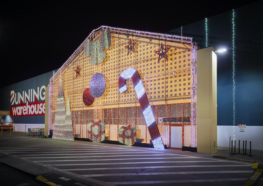 Bunnings lights up the warehouse with mega Christmas activation via Bastion EBA