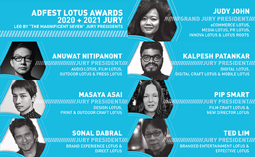 Revolver's Pip Smart selected as AdFest 20-21 jury president for Film Craft & New Director Lotus