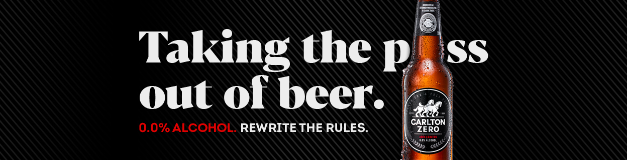 Carlton Zero encourages Aussies to rewrite the rules in new campaign via Clemenger BBDO