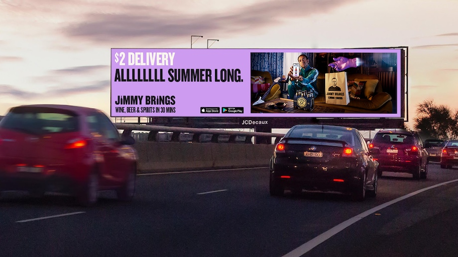 Jimmy Brings launches new 'Summer Delivered Differently' campaign via R/GA Australia