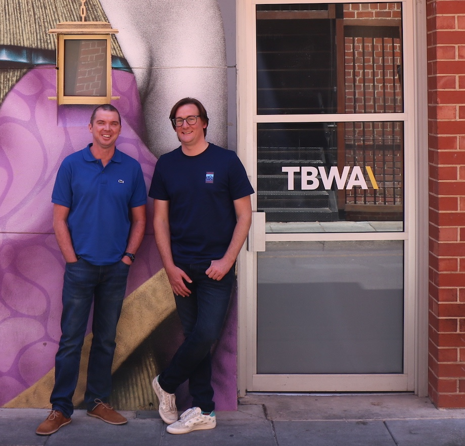 TBWA\Adelaide appoints local creative team Patrick O'Reilly and Mark Atherton