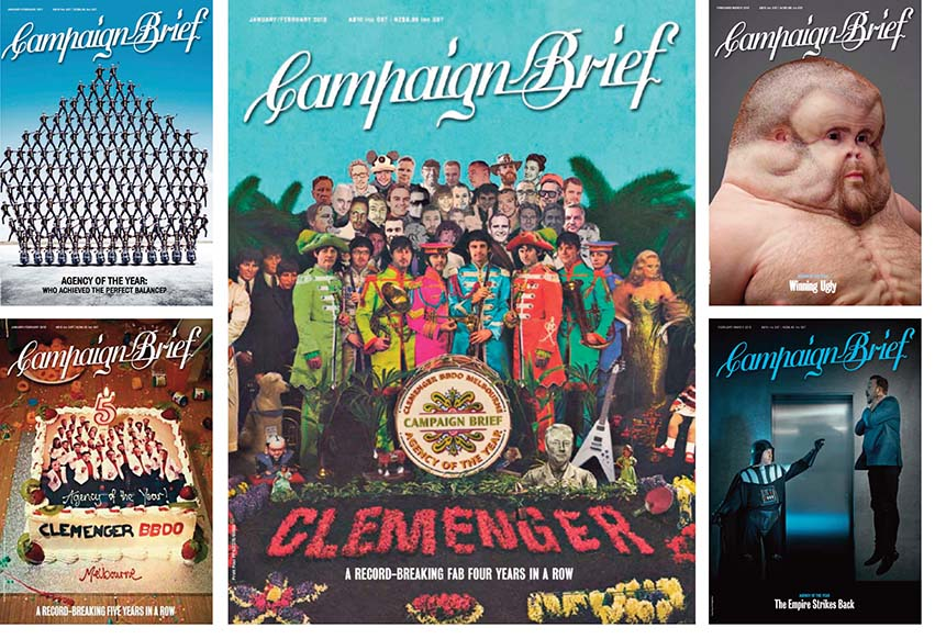 Clemenger BBDO, Melbourne named Campaign Brief Australian Advertising Agency of the Decade