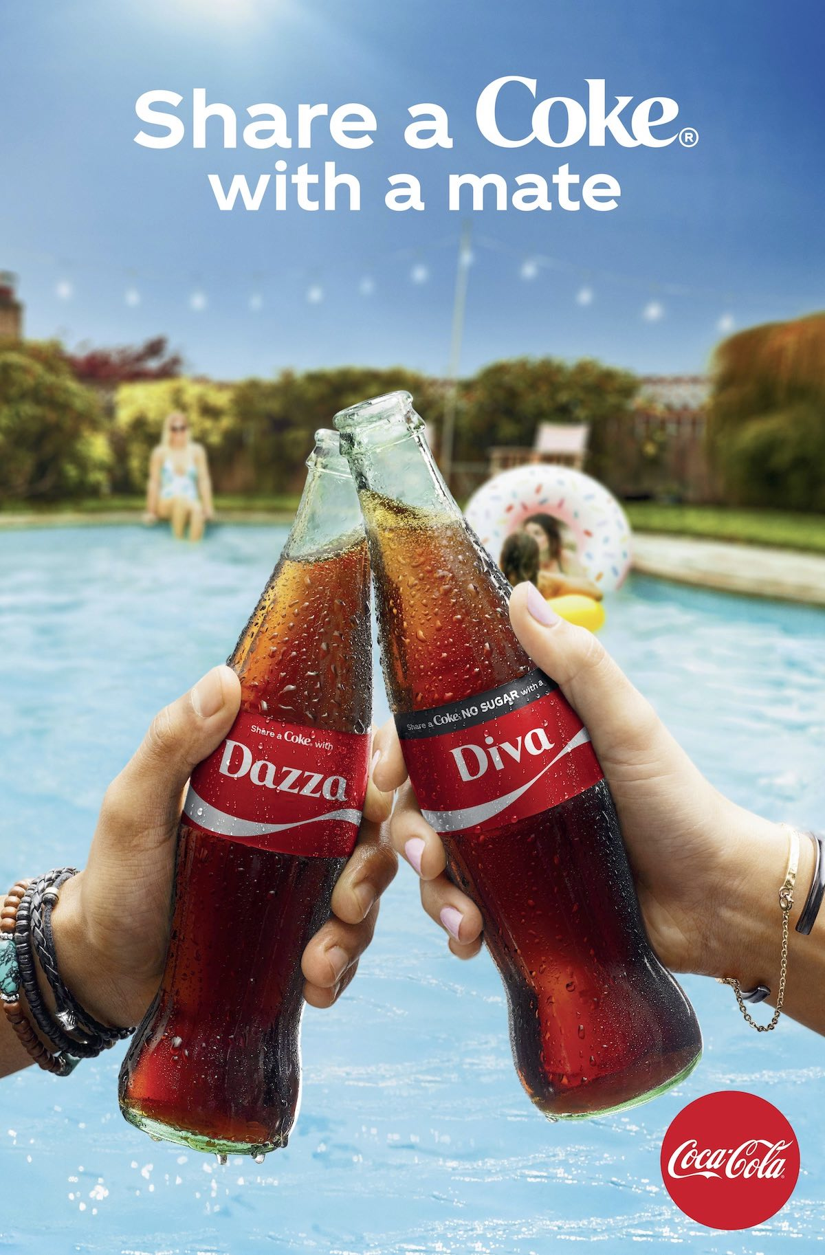 Aussies can 'taste the feeling' of TV fame with return of 'Share a Coke' campaign via Ogilvy