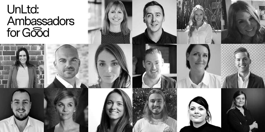 UnLtd announces 2021 Ambassadors for Good