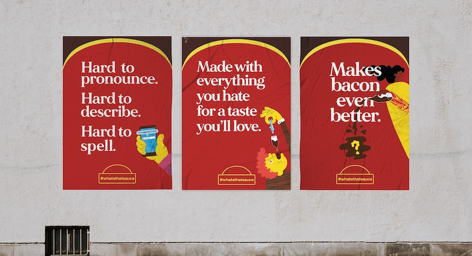 'What's that sauce' – a campaign for a curious condiment from Goodman Fielder via The Works