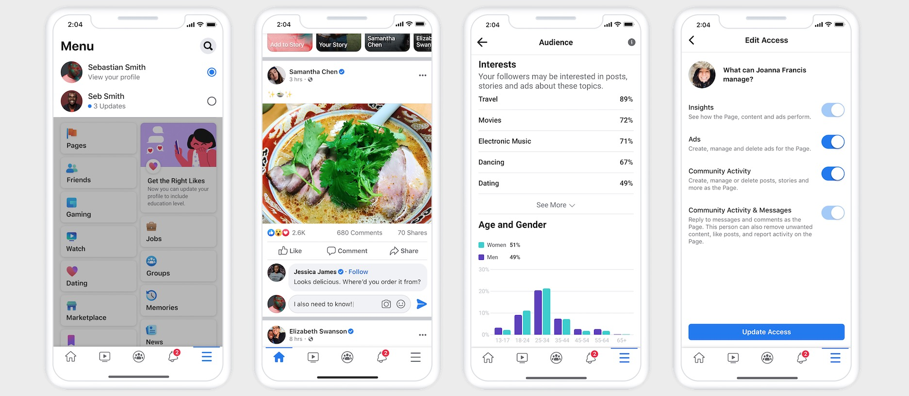 Facebook introduces the New Pages experience