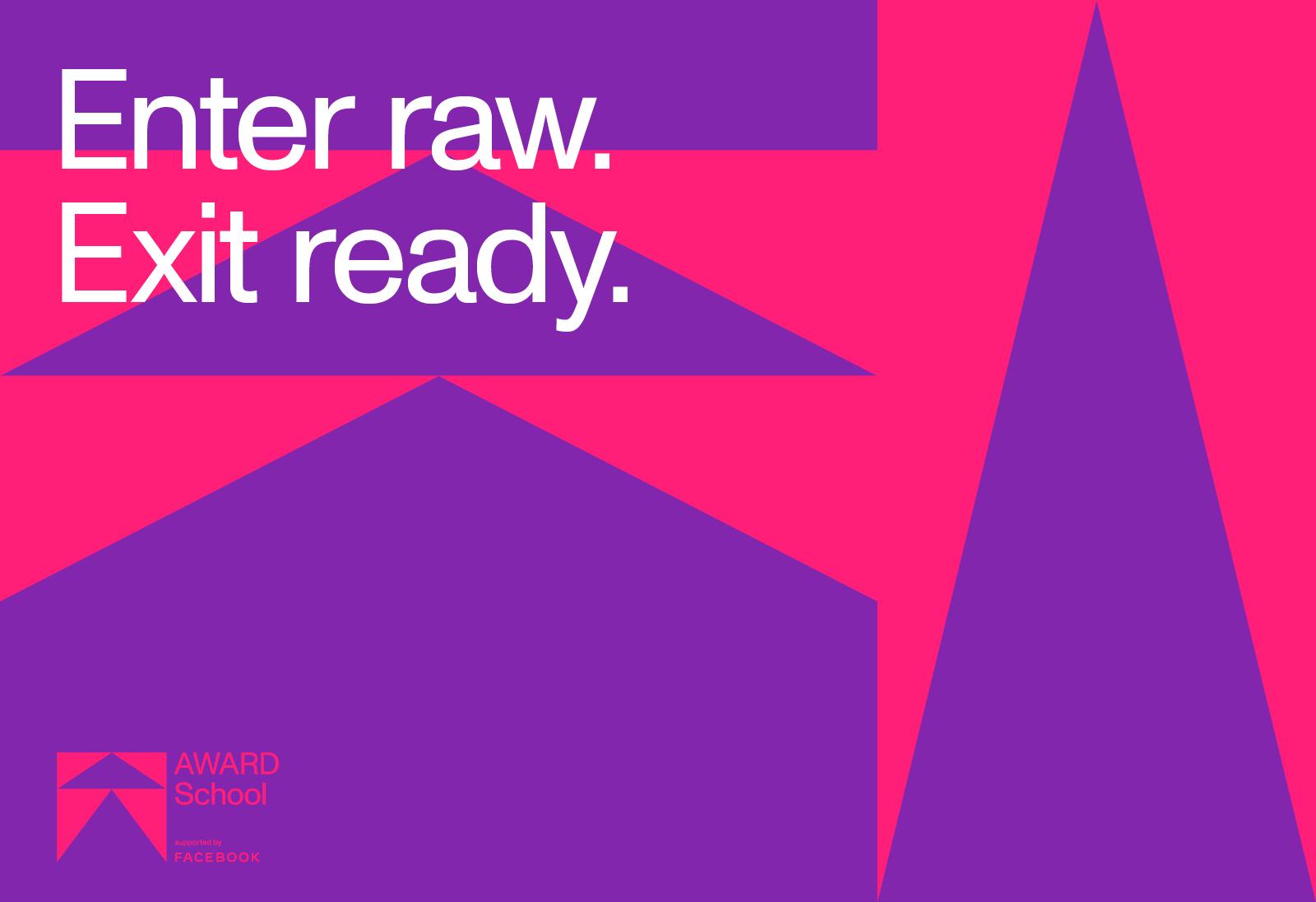 Enter Raw, Exit Ready: AWARD School kicks off its 2021 enrolment campaign