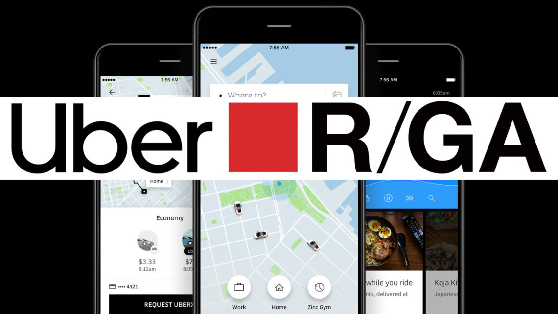 Uber appoints R/GA as global social agency
