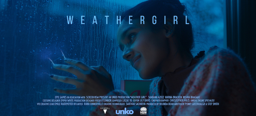 unko + VANDAL bring to life director Stef Smith's 'Weather Girl' using Epic Games Unreal Engine