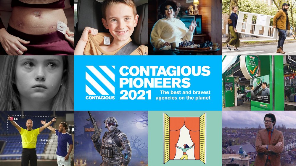 CHE Proximity named among Top 10 Contagious Pioneers 2020 list of the best and bravest agencies for the fourth year in a row