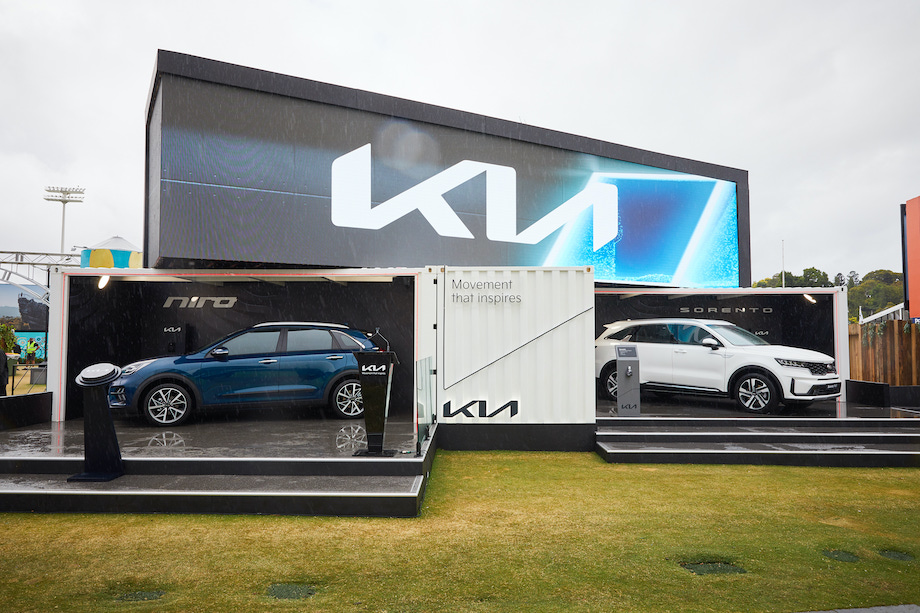 Kia marks 20 years at the AO with brand reveal + 'Kia Morphia' experience via Bastion Collective