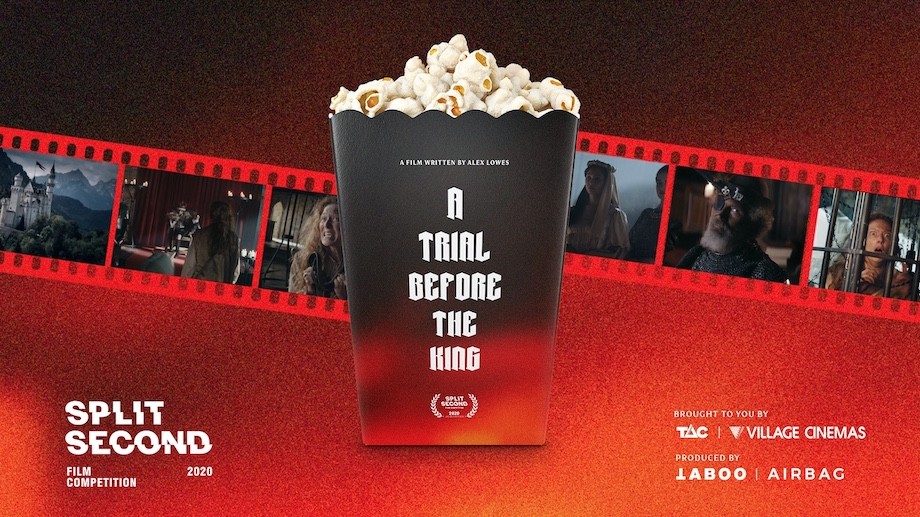TAC, TABOO + AIRBAG premiere 2020 Split Second's epic winning film in partnership with Village