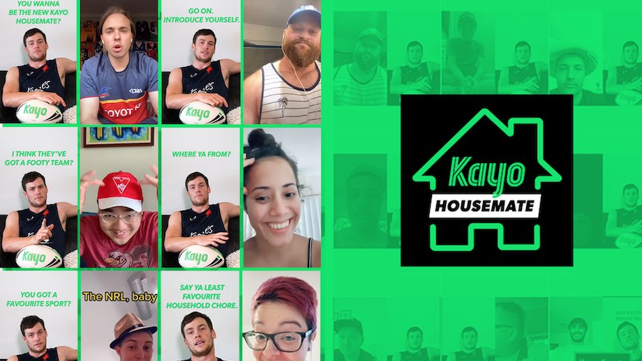 Kayo Sports turns to TikTok to find their new housemate in latest campaign via We Are Social