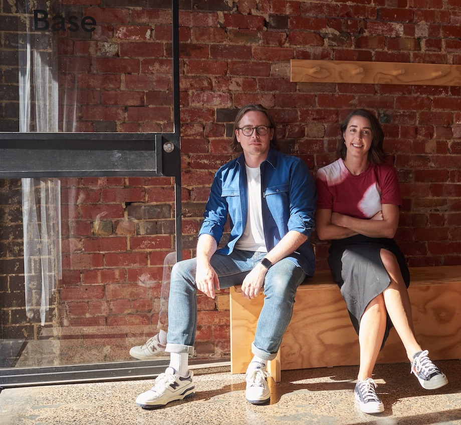 Base Design launches new Aussie office led by creative directors Daniel Peterson + Caroline Cox