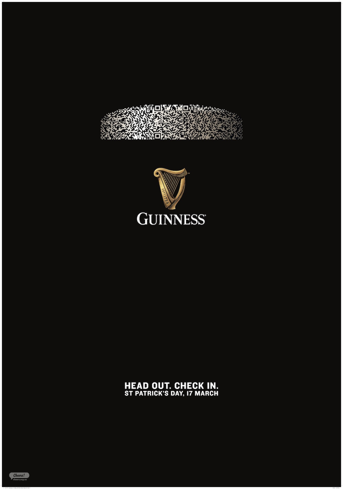 Guinness urges Kiwis to celebrate St Paddy's Day responsibly in new work via Special Group NZ