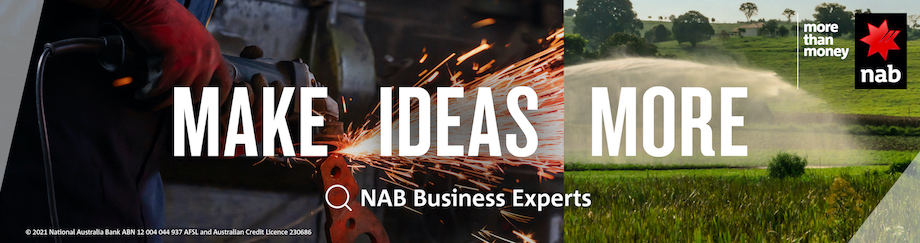 NAB supports businesses to Make Ideas More in new campaign via Clemenger BBDO, Melbourne