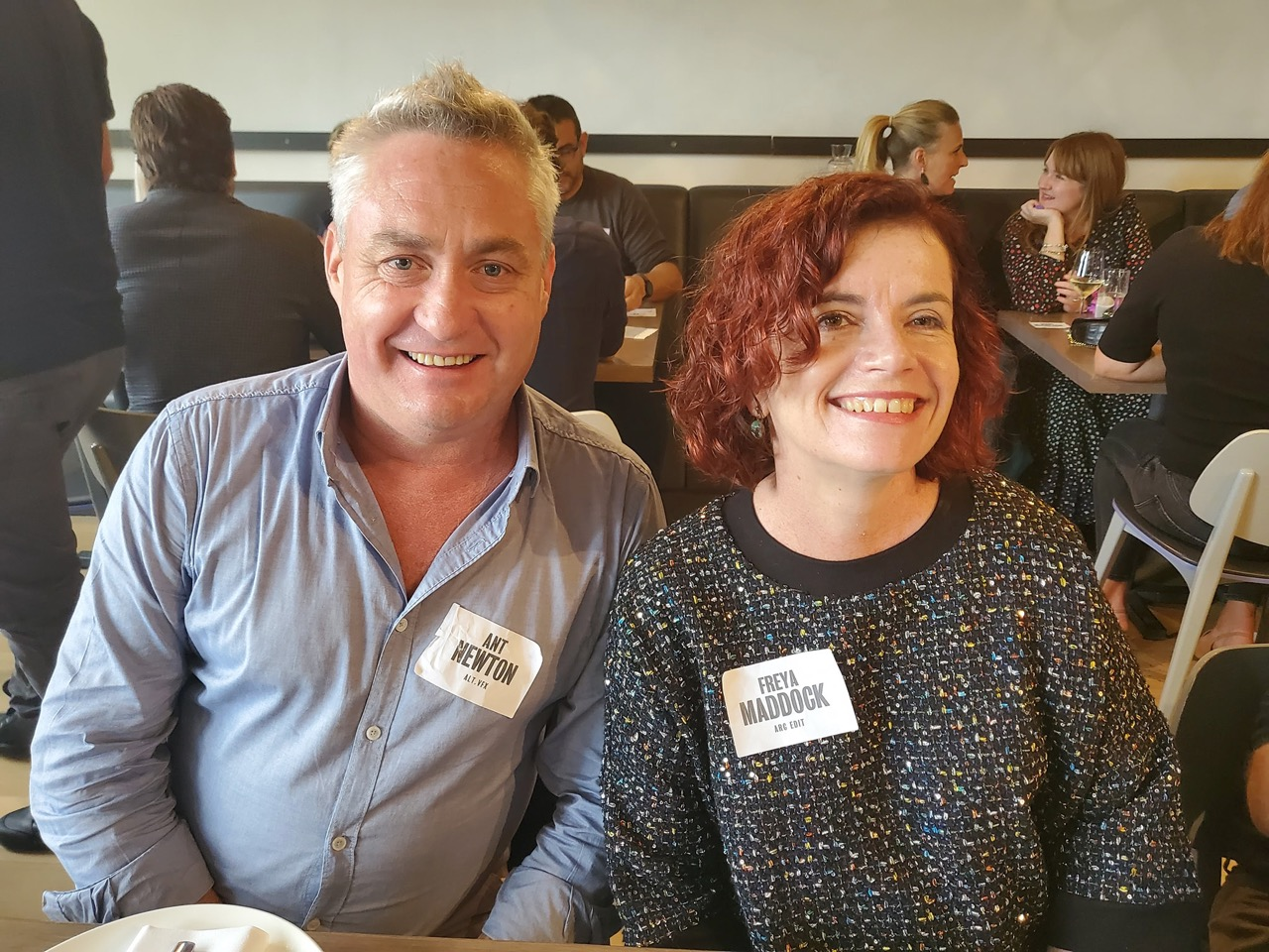 Melbourne's top creatives and producers enjoy the Campaign Brief Melbourne Legendary Lunch sponsored by The Producers