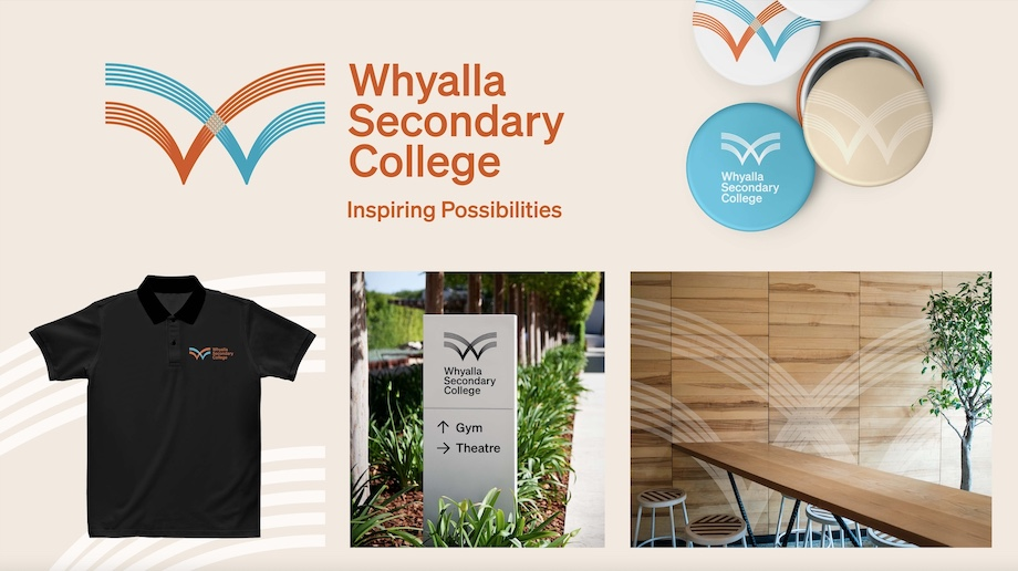 Whyalla Secondary College launches new brand identity via KWP!