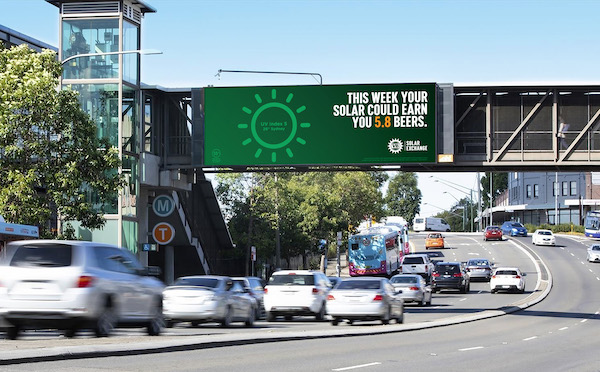 Victoria Bitter encourages Aussies to swap solar power for beer with the launch of the VB Solar Exchange via Clemenger BBDO, Melbourne