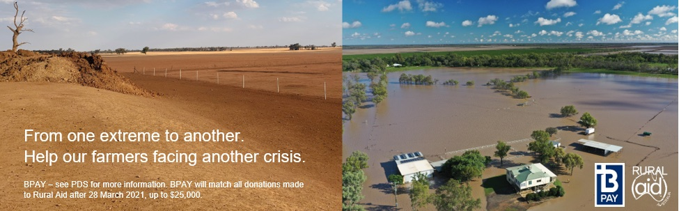 BPAY donates $25K to farmers in Rural Aid campaign with support from BMF and Ikon
