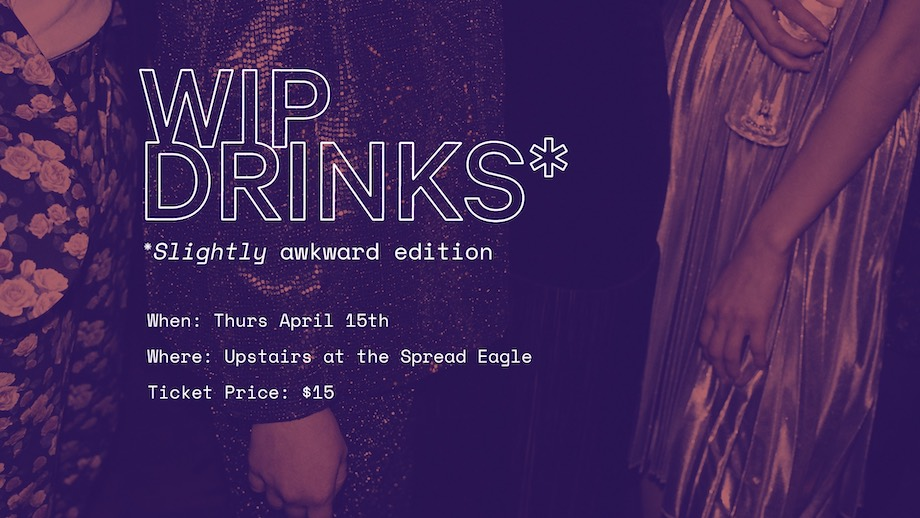 Join VIC Youngbloods for first WIP drinks of the year at the Spread Eagle, Thursday 15 April