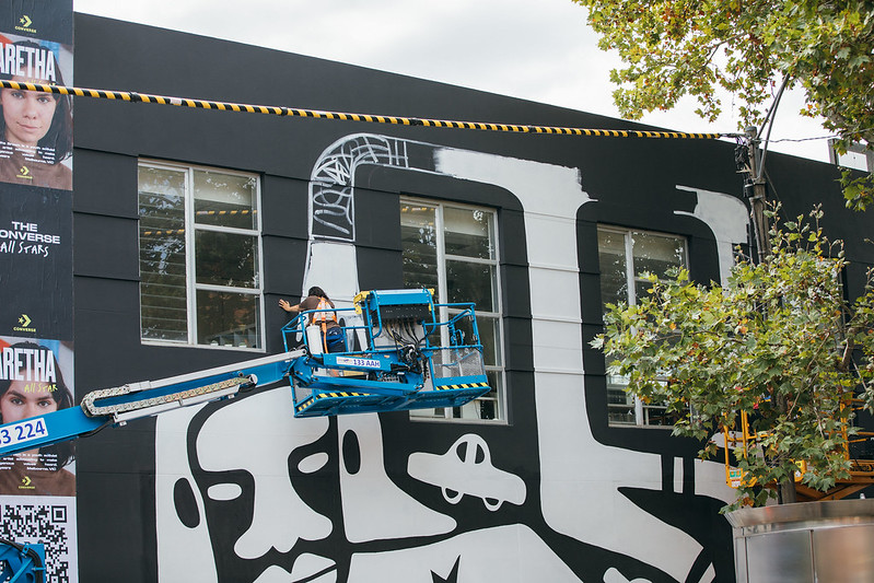 Converse launches new 'City Forests' sustainable public art campaign in Melbourne via Amplify