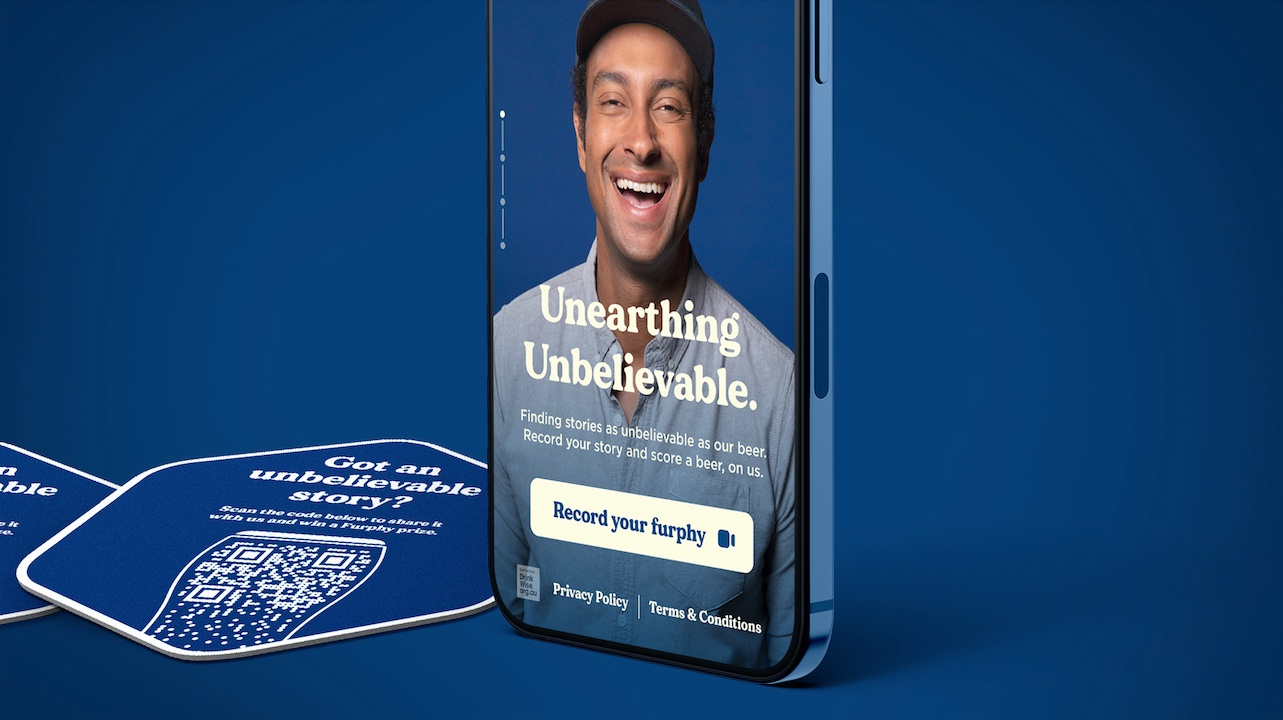 Furphy celebrates tellers of tall tales in new 'Unearthing Unbelievable' experience via Akcelo