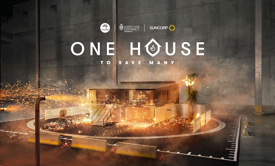Suncorp launches 'One House To Save Many' via Leo Burnett Sydney and The Glue Society