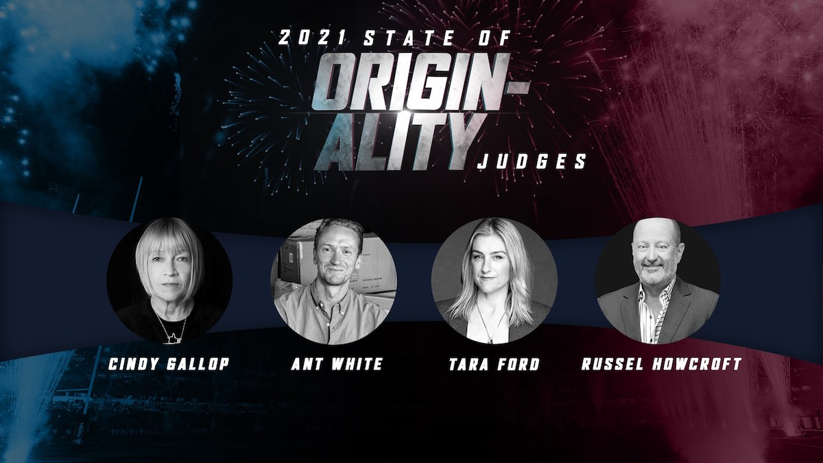 Nine names Tara Ford, Cindy Gallop, Ant White and Russel Howcroft for State of Originality panel