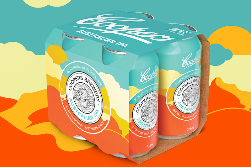 Coopers launches new limited edition Australian IPA designed by Melbourne agency TABOO