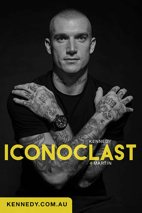 DUSTIN MARTIN IS THE ONE TO WATCH in latest campaign for luxury retailer Kennedy