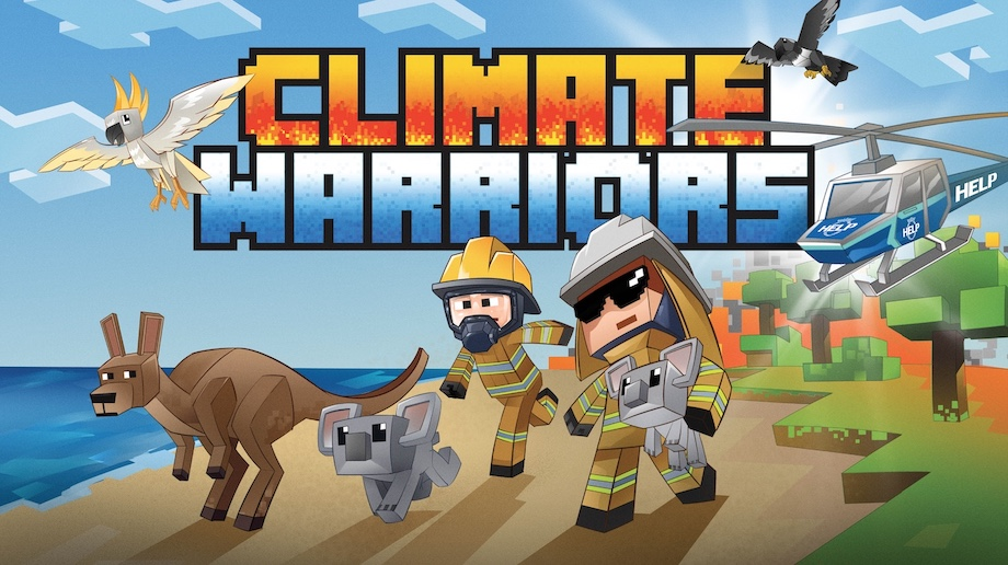 NRMA Insurance launches 'Climate Warriors', a world first Minecraft bushfire simulation in a new initiative via Thinkerbell