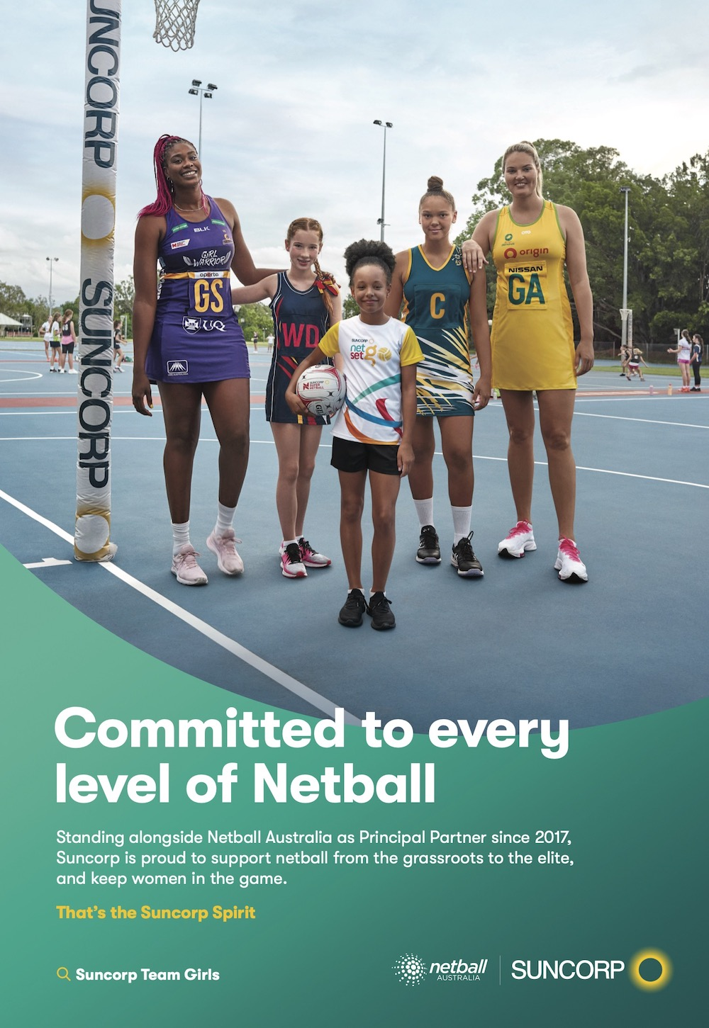 Suncorp's commitment to Netball shines in one family's story in new work via Leo Burnett