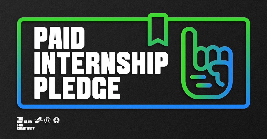 The One Club calls on creative industry to step up and sign new Paid Internship Pledge