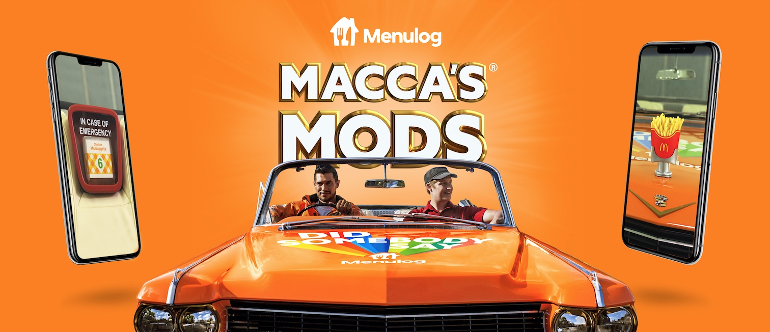 Menulog transforms Cadillac Lowrider into Macca's Delivery Whip via Connecting Plots