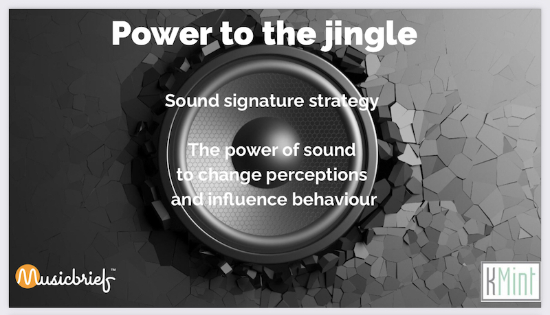 Power to the Jingle – Sonic Communication: MusicBrief's Matt Hayward to guest speak in KMint 2021 webinar on Tues May 25 at 12:30PM
