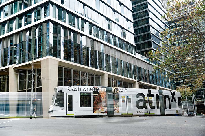 Town Square, Melbourne launches atmx by Armaguard – a new ATM network for Australia