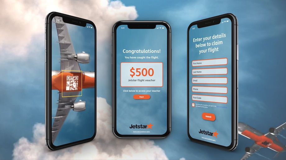 Jetstar turns Australia's busiest train stations into airports in new campaign via Thinkerbell