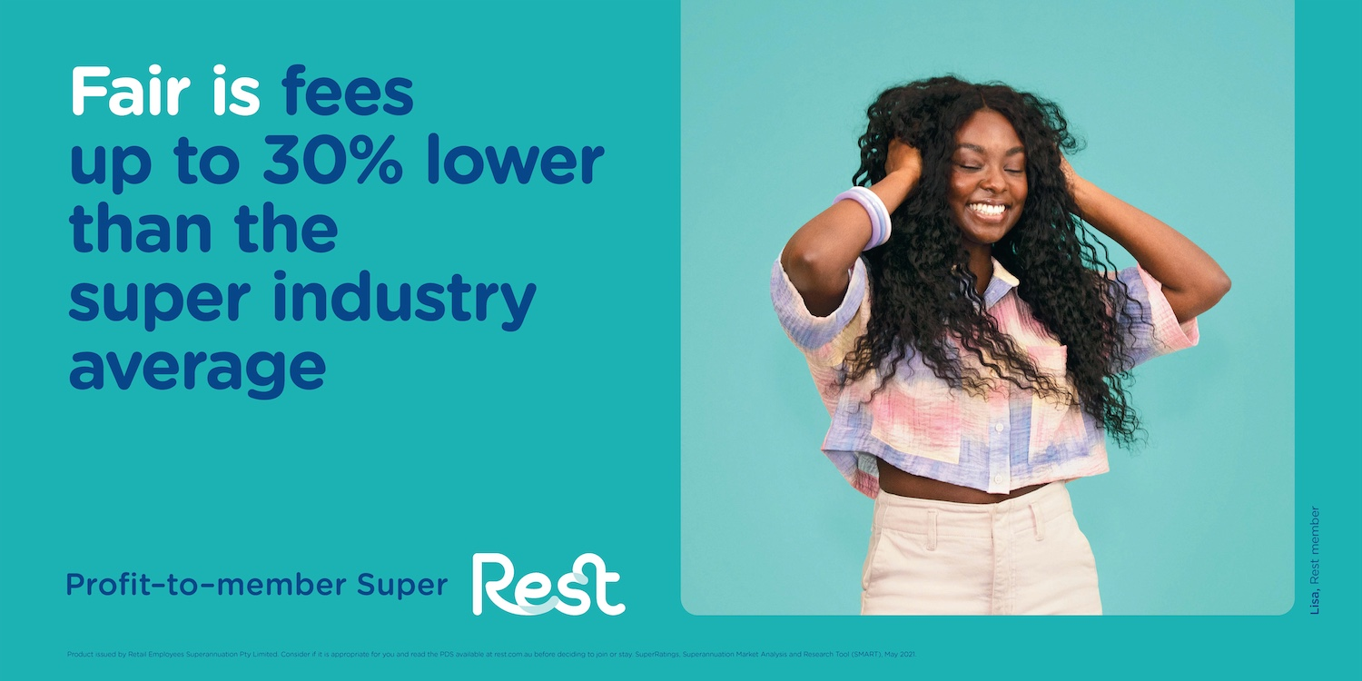 Superannuation fund Rest launches new 'A Fair Go For All Australians' brand campaign via BMF