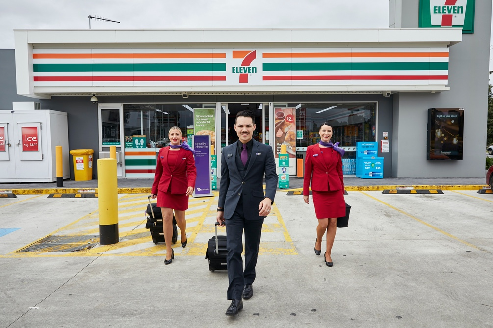 The Mint Partners turns Sydney's The Domain into an airport runway to launch Velocity Frequent Flyer and 7-Eleven's new partnership