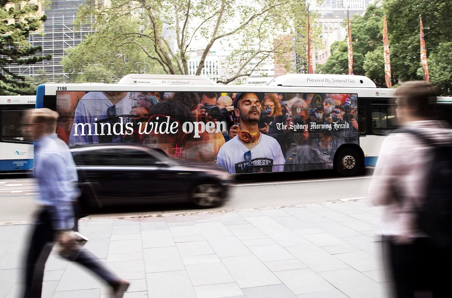 The Sydney Morning Herald and The Age launch 'Minds Wide Open' brand campaign via BMF